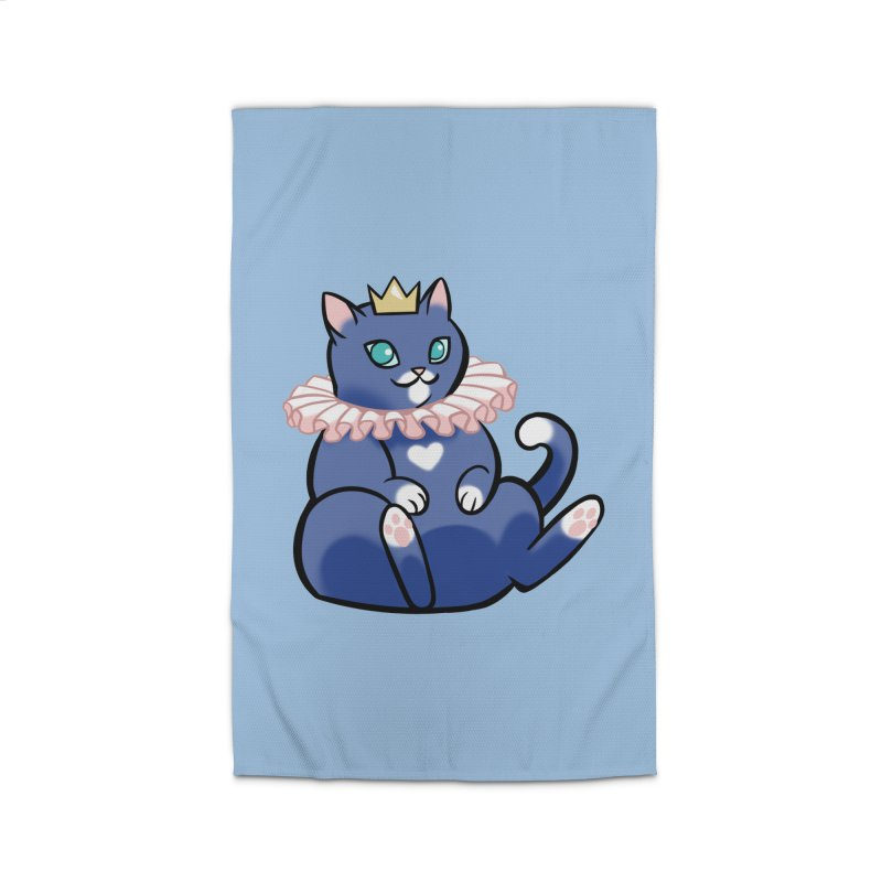 King Cat Home Rug by The Art of Mirana Reveier