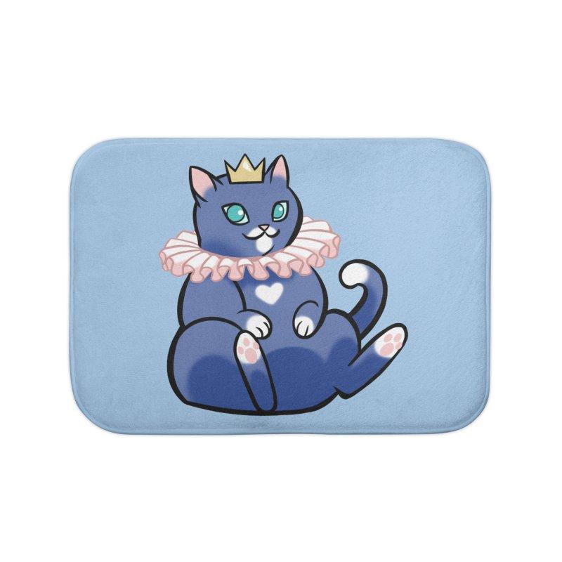 King Cat Home Bath Mat by The Art of Mirana Reveier