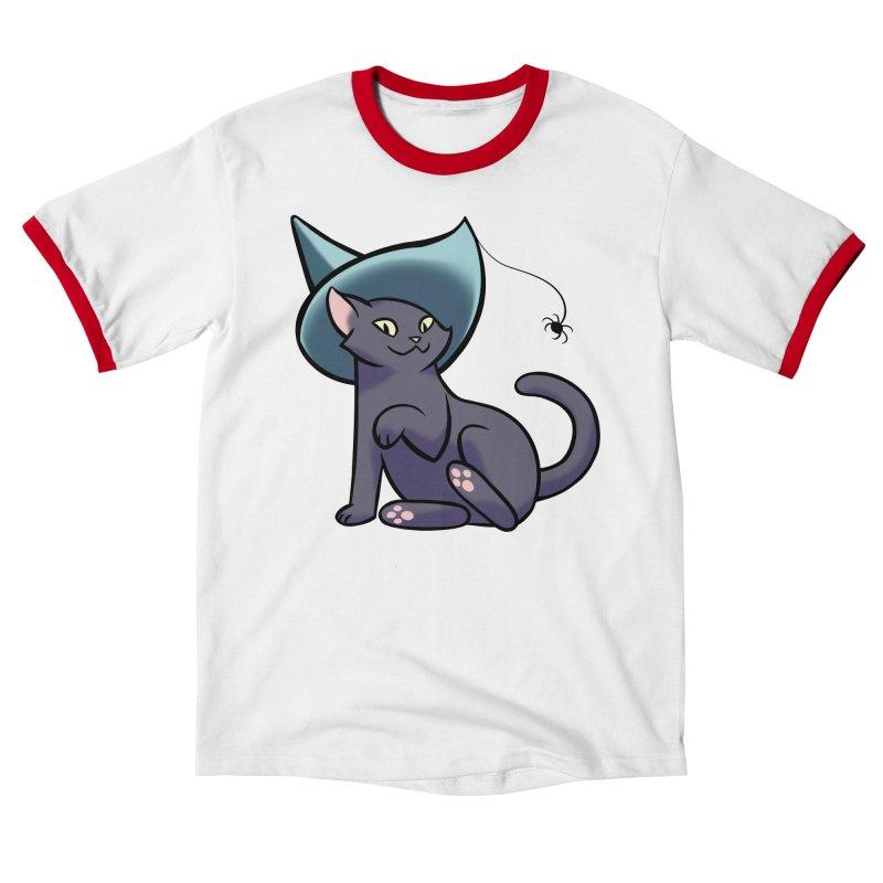Witch Cat Women's T-Shirt by The Art of Mirana Reveier