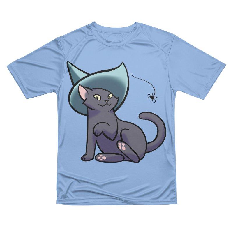 Witch Cat Men's T-Shirt by The Art of Mirana Reveier
