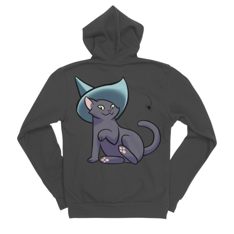 Witch Cat Women's Zip-Up Hoody by The Art of Mirana Reveier