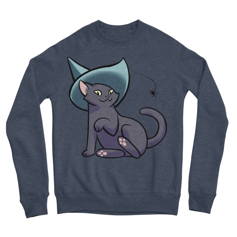 Witch Cat Men's Sweatshirt by The Art of Mirana Reveier
