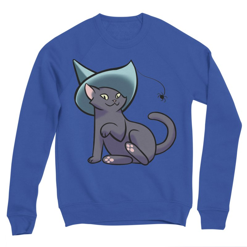 Witch Cat Men's Sweatshirt by The Art of Mirana Reveier