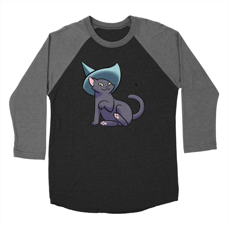 Witch Cat Men's Longsleeve T-Shirt by The Art of Mirana Reveier