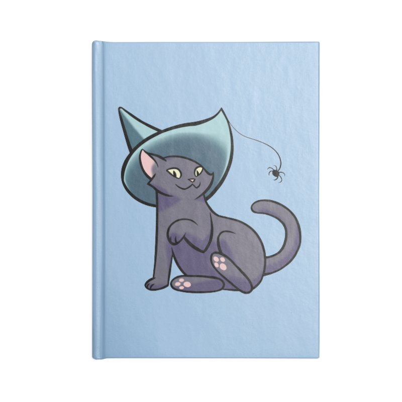 Witch Cat Accessories Notebook by The Art of Mirana Reveier