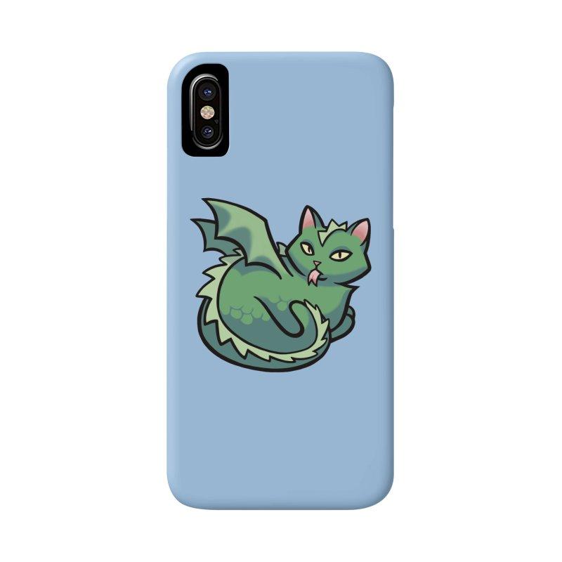 Dragon Cat Accessories Phone Case by mirana's Artist Shop