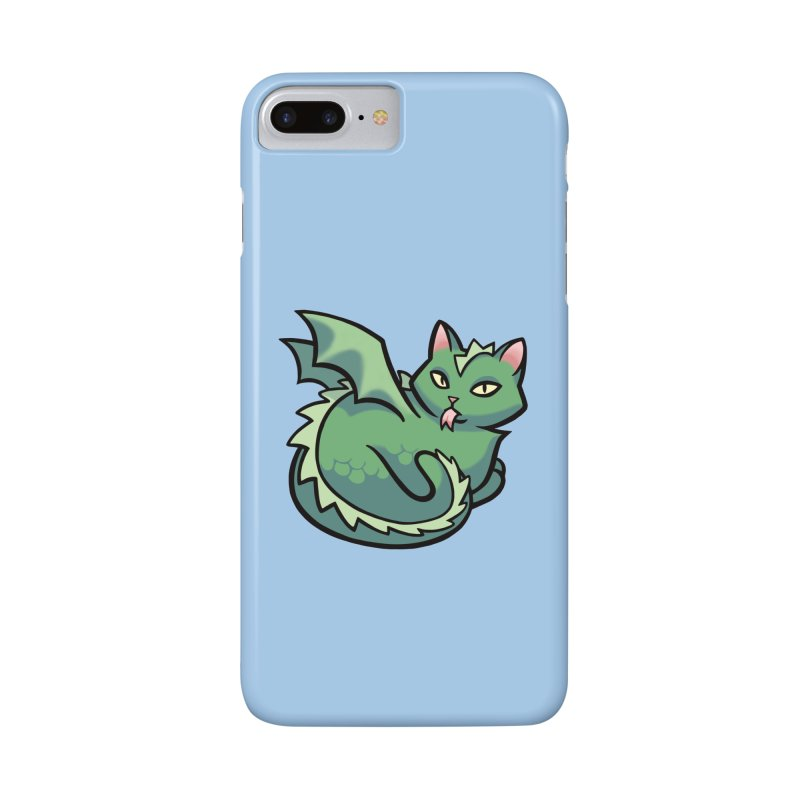 Dragon Cat Accessories Phone Case by mirana's Artist Shop