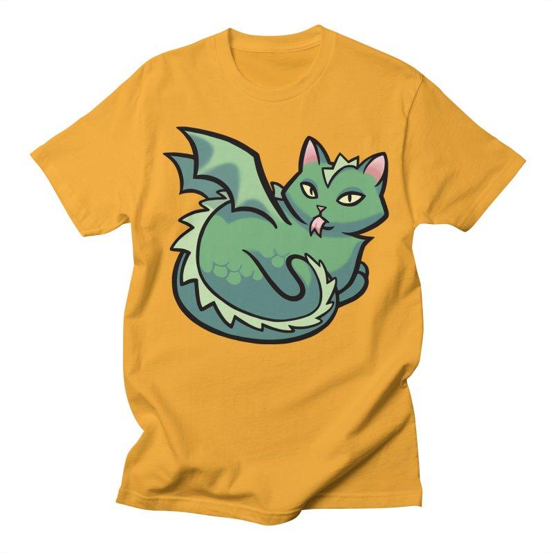 Dragon Cat Women's T-Shirt by The Art of Mirana Reveier
