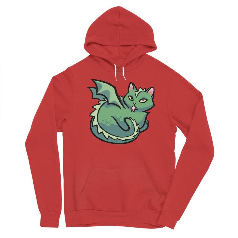 Dragon Cat Men's Pullover Hoody by The Art of Mirana Reveier