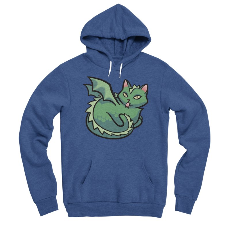 Dragon Cat Women's Pullover Hoody by The Art of Mirana Reveier