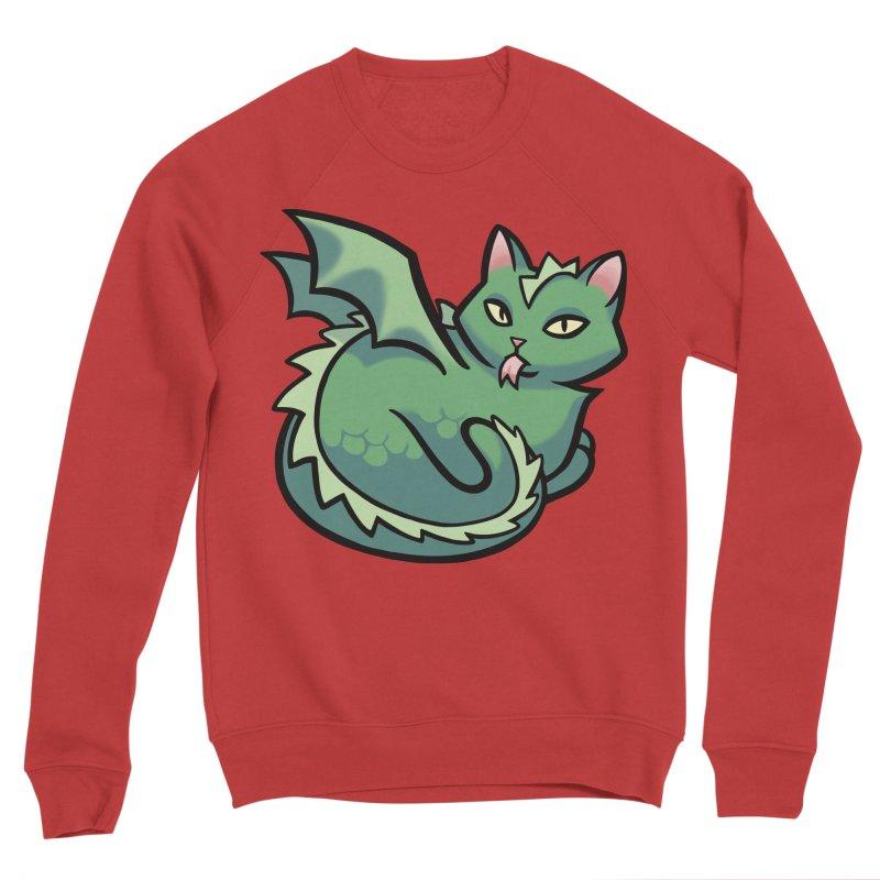 Dragon Cat Women's Sweatshirt by The Art of Mirana Reveier