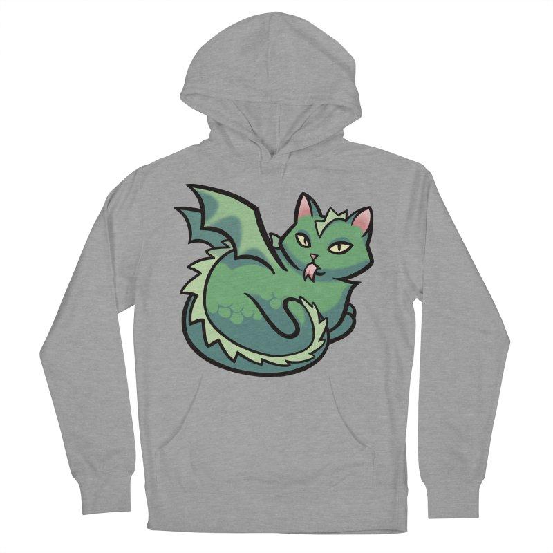 Dragon Cat Women's Pullover Hoody by mirana's Artist Shop