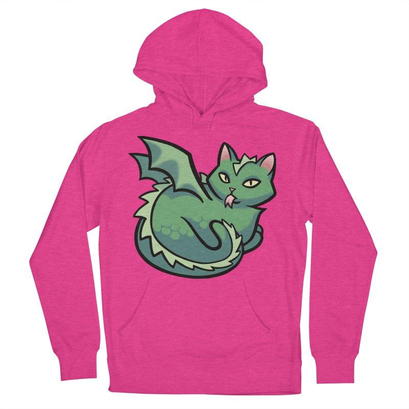 Dragon Cat Men's Pullover Hoody by mirana's Artist Shop