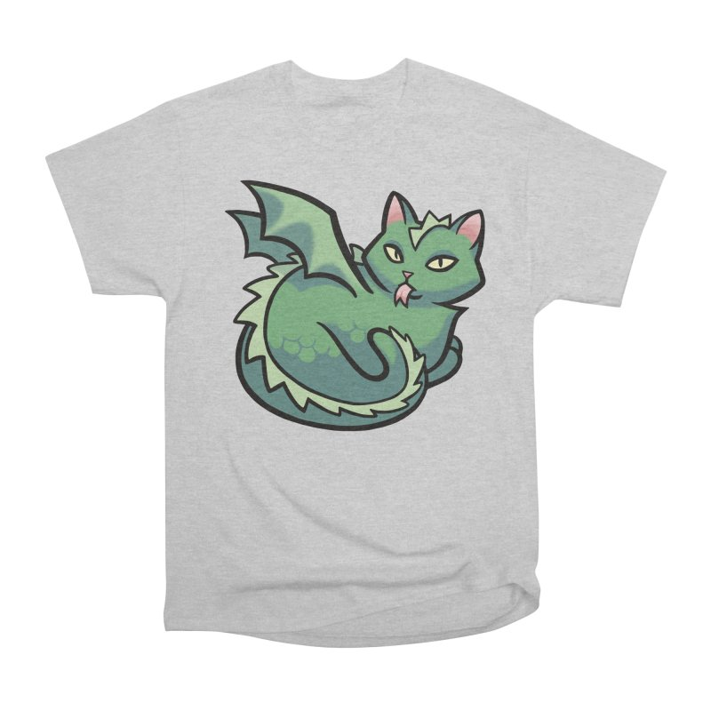 Dragon Cat Men's T-Shirt by The Art of Mirana Reveier