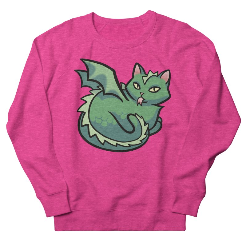 Dragon Cat Women's Sweatshirt by mirana's Artist Shop