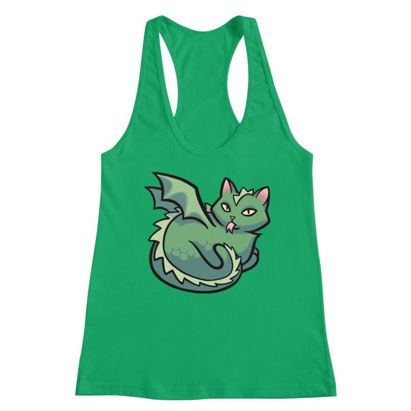 Dragon Cat Women's Tank by The Art of Mirana Reveier