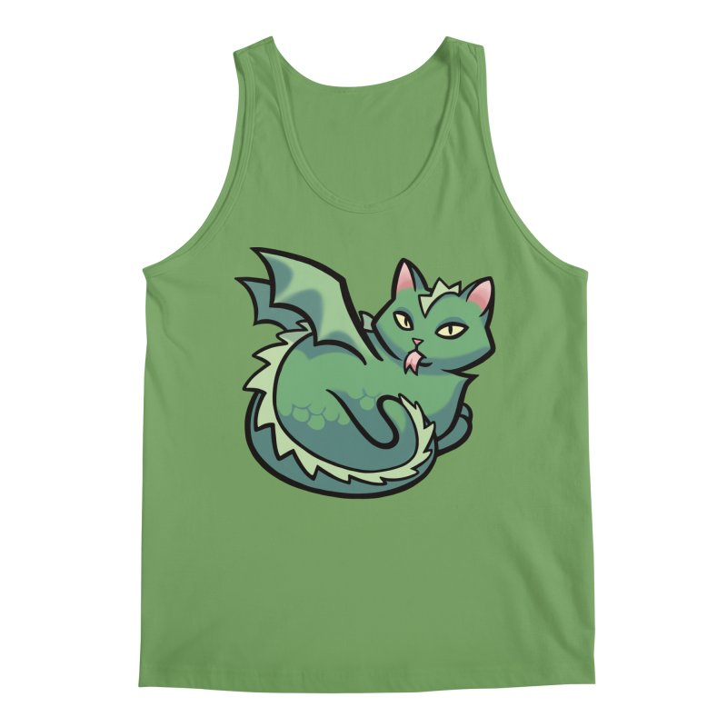 Dragon Cat Men's Tank by The Art of Mirana Reveier