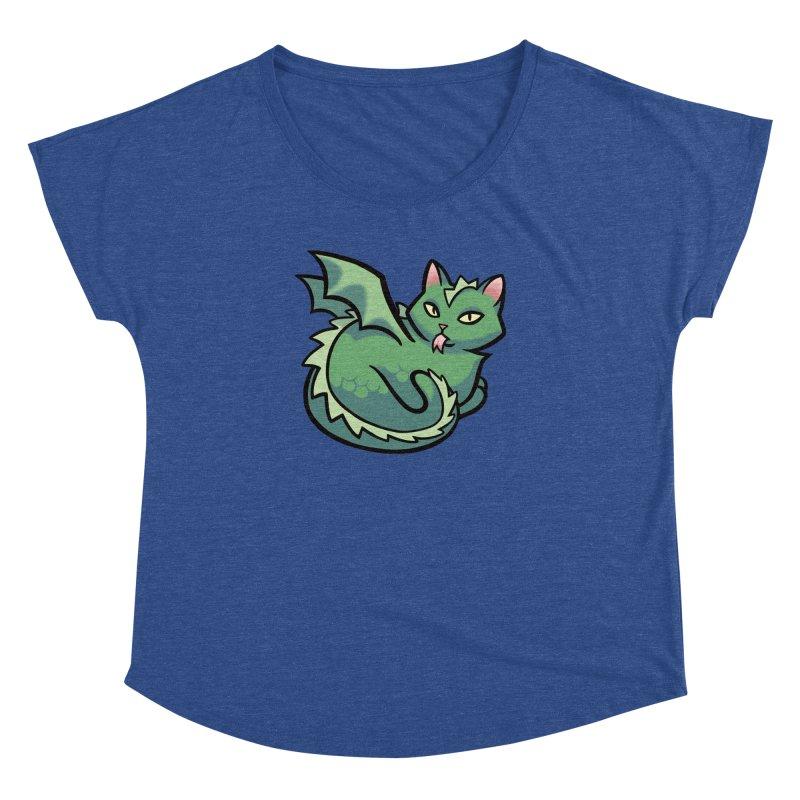 Dragon Cat Women's Dolman by mirana's Artist Shop