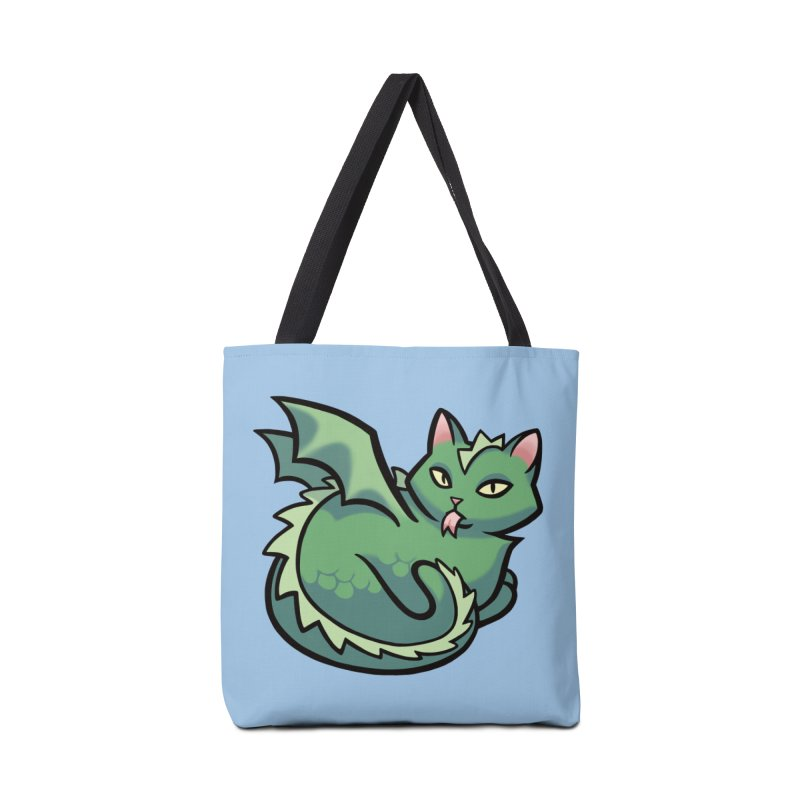 Dragon Cat Accessories Bag by mirana's Artist Shop