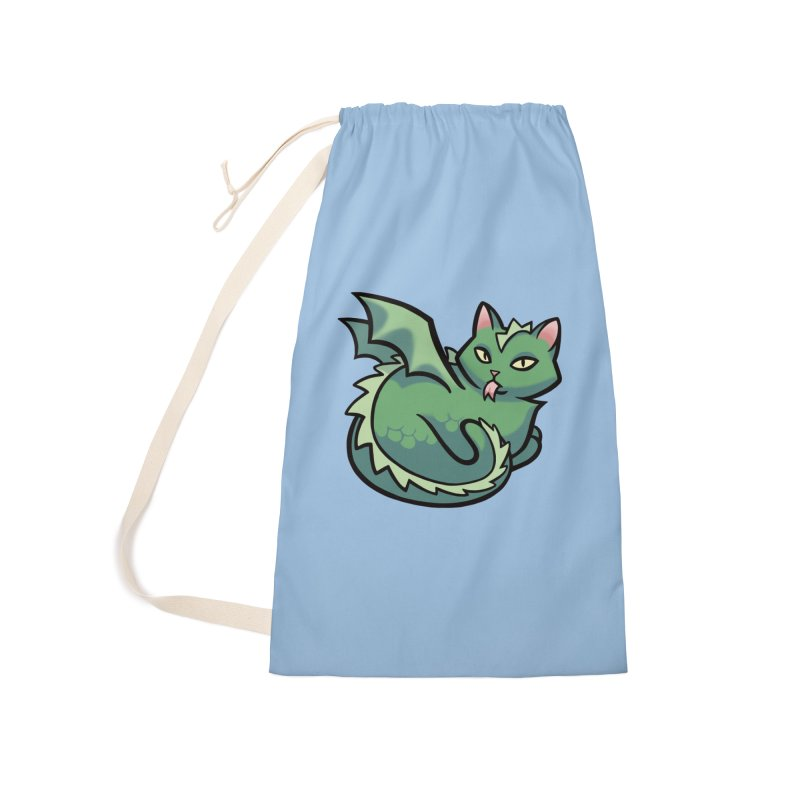 Dragon Cat Accessories Bag by The Art of Mirana Reveier