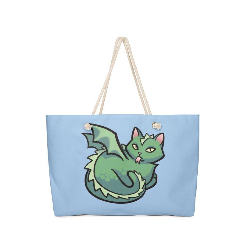 Dragon Cat Accessories Bag by The Art of Mirana Reveier