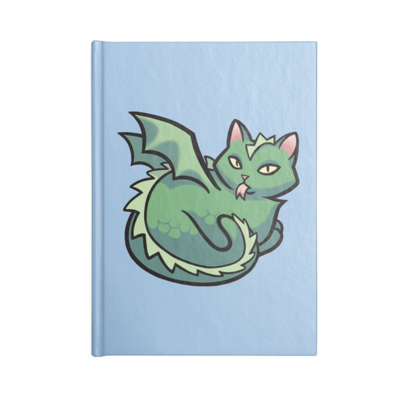 Dragon Cat Accessories Notebook by mirana's Artist Shop