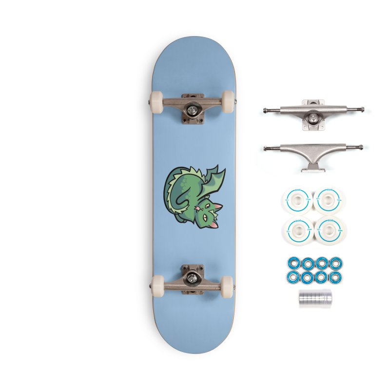 Dragon Cat Accessories Skateboard by The Art of Mirana Reveier