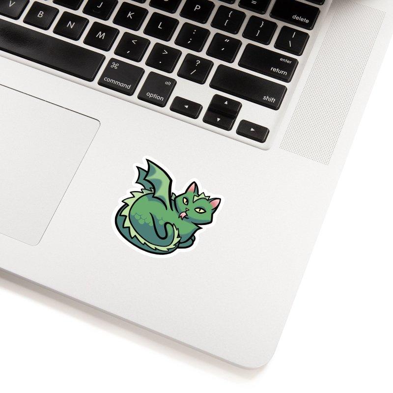 Dragon Cat Accessories Sticker by The Art of Mirana Reveier