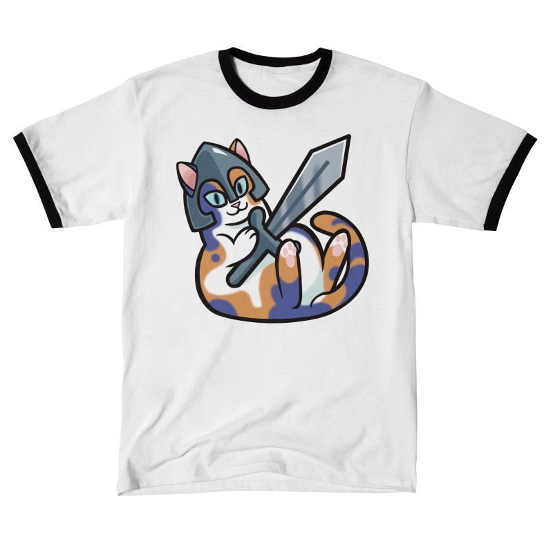 Sword Cat Men's T-Shirt by The Art of Mirana Reveier