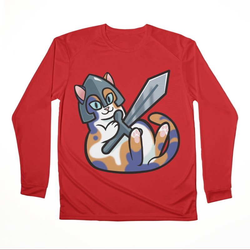 Sword Cat Men's Longsleeve T-Shirt by The Art of Mirana Reveier