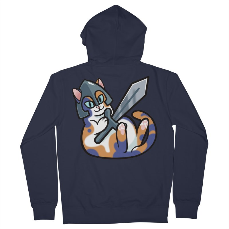 Sword Cat Women's Zip-Up Hoody by mirana's Artist Shop