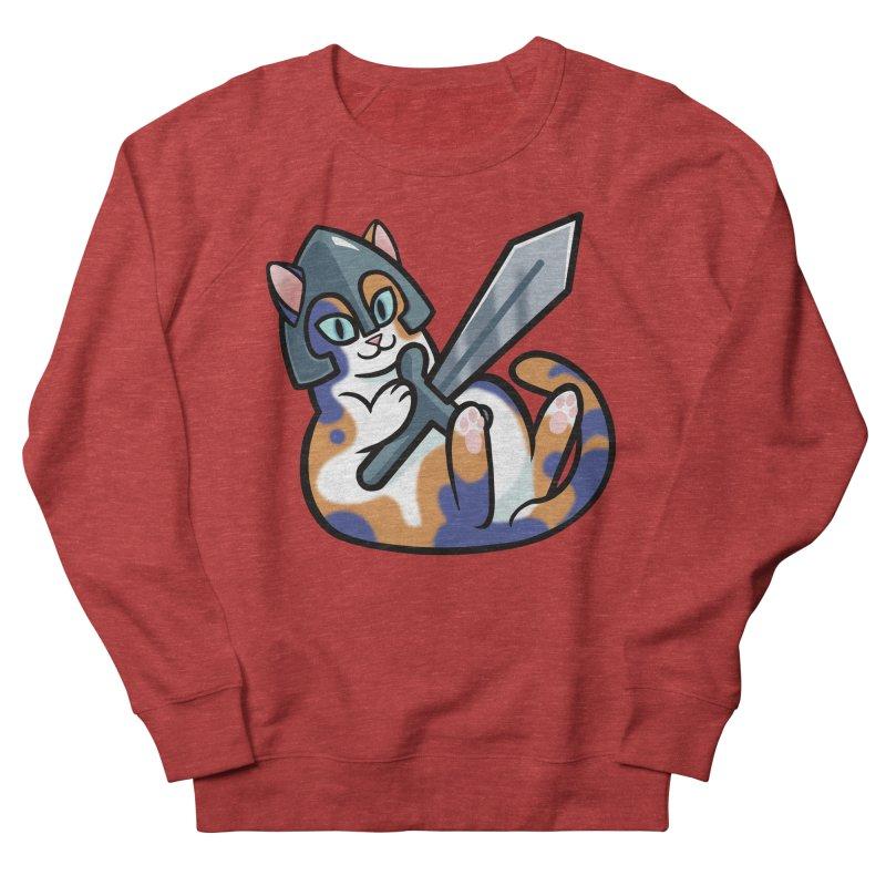 Sword Cat Women's Sweatshirt by mirana's Artist Shop