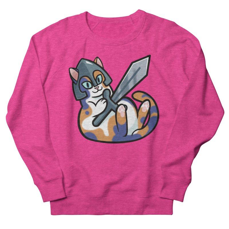 Sword Cat Men's Sweatshirt by mirana's Artist Shop