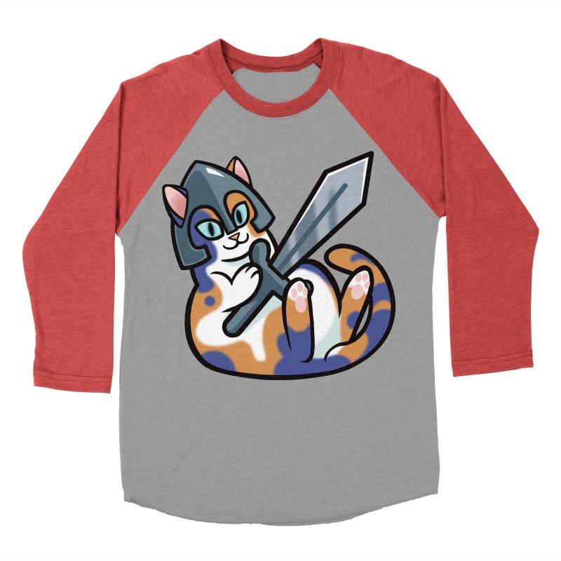 Sword Cat Women's Longsleeve T-Shirt by mirana's Artist Shop