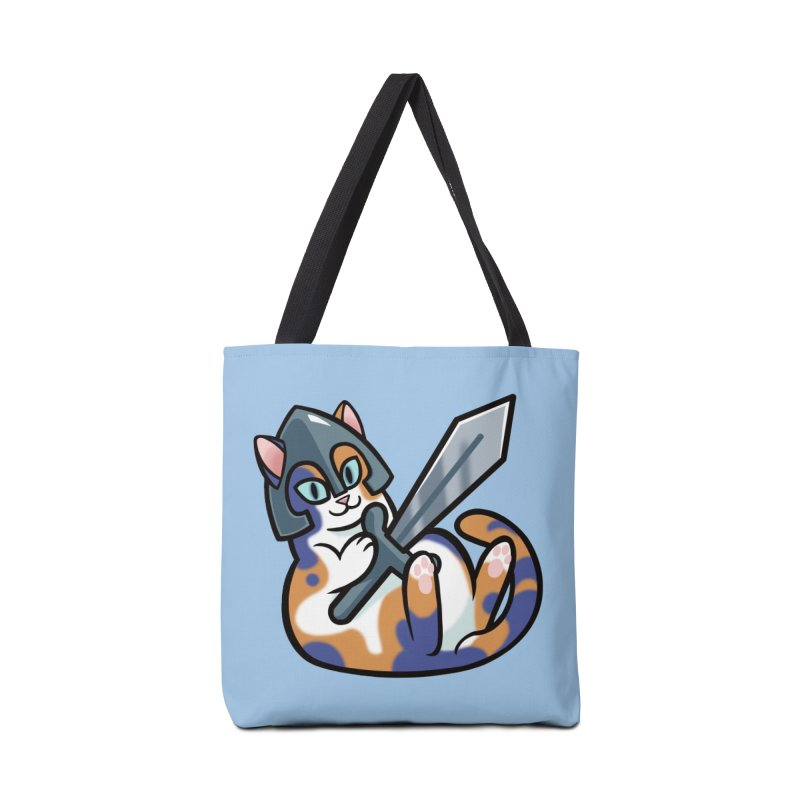 Sword Cat Accessories Tote Bag Bag by mirana's Artist Shop