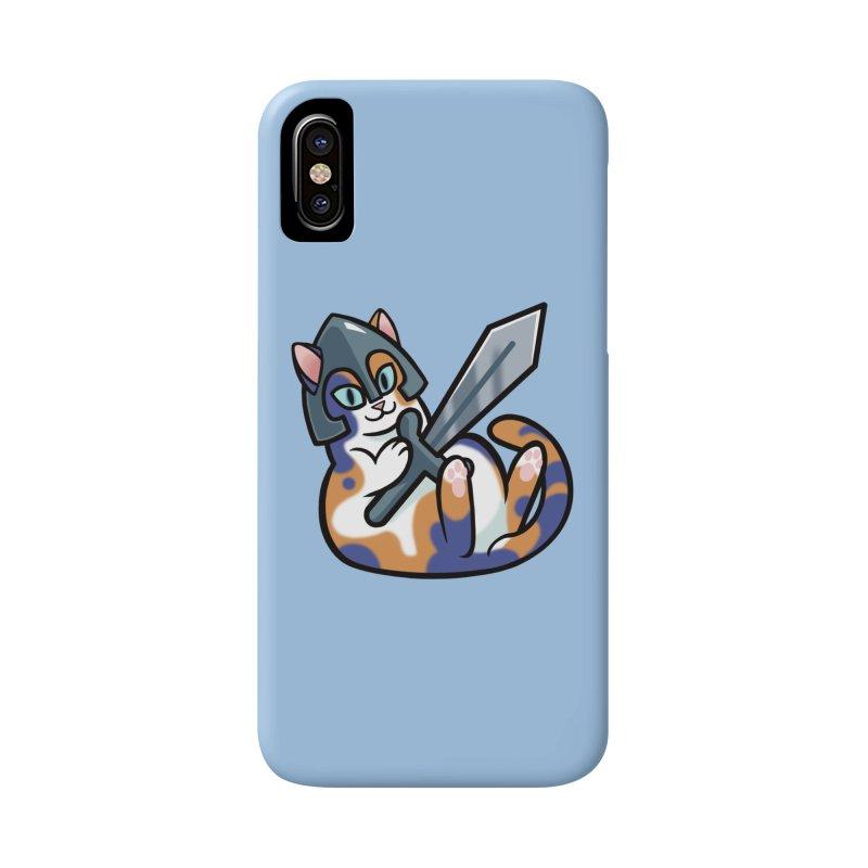 Sword Cat Accessories Phone Case by mirana's Artist Shop