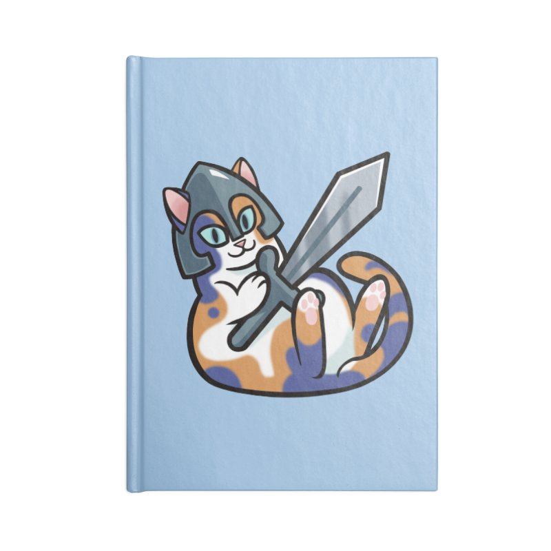 Sword Cat Accessories Notebook by mirana's Artist Shop