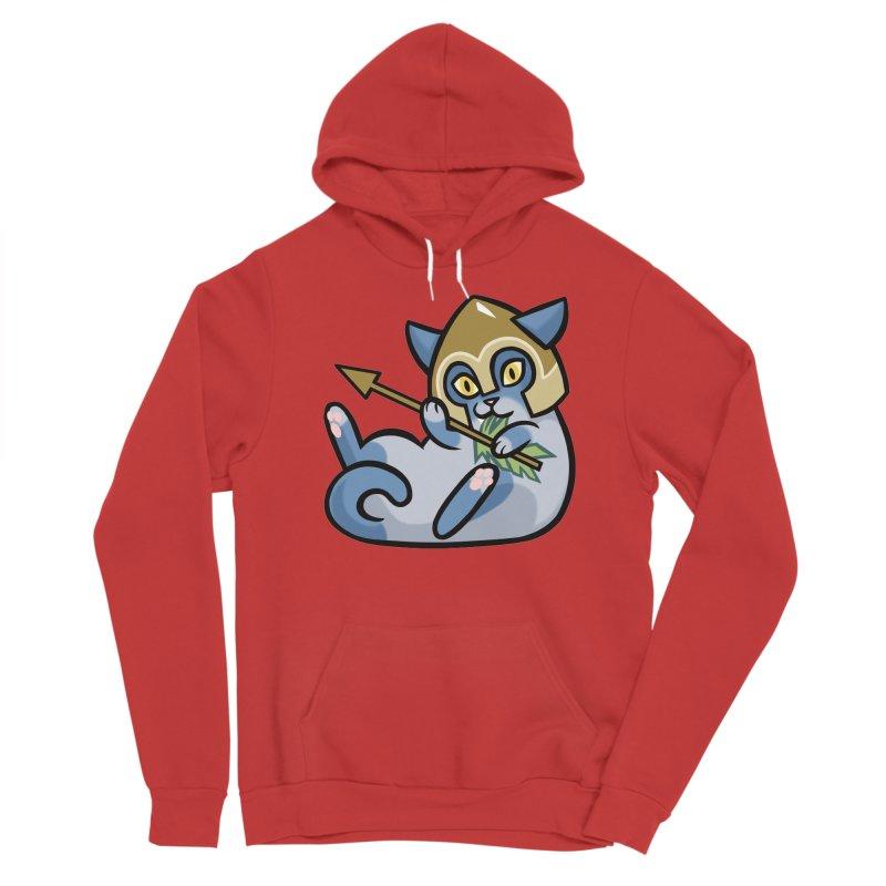 Arrow Cat Men's Pullover Hoody by The Art of Mirana Reveier
