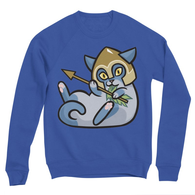 Arrow Cat Men's Sweatshirt by The Art of Mirana Reveier