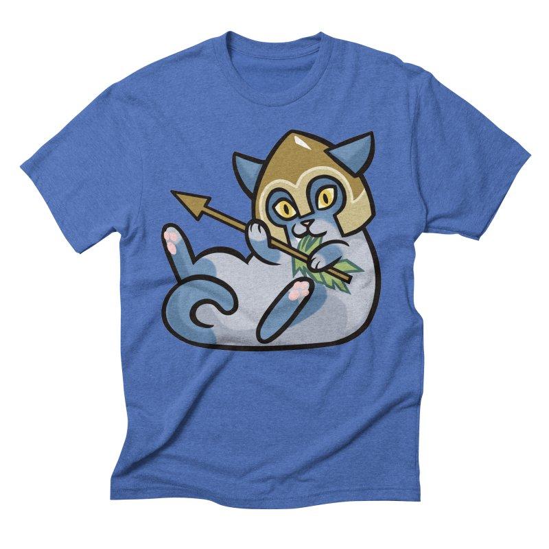 Arrow Cat Men's T-Shirt by mirana's Artist Shop