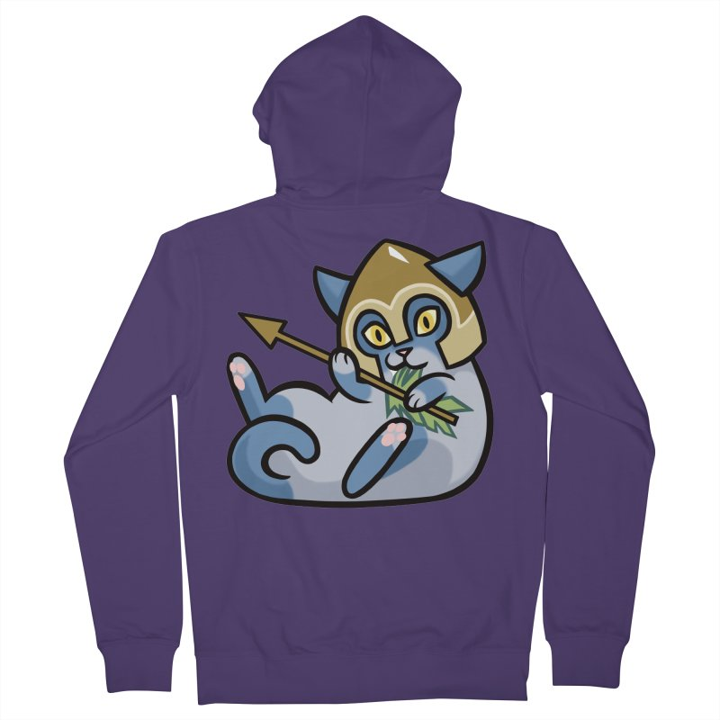 Arrow Cat Women's Zip-Up Hoody by mirana's Artist Shop