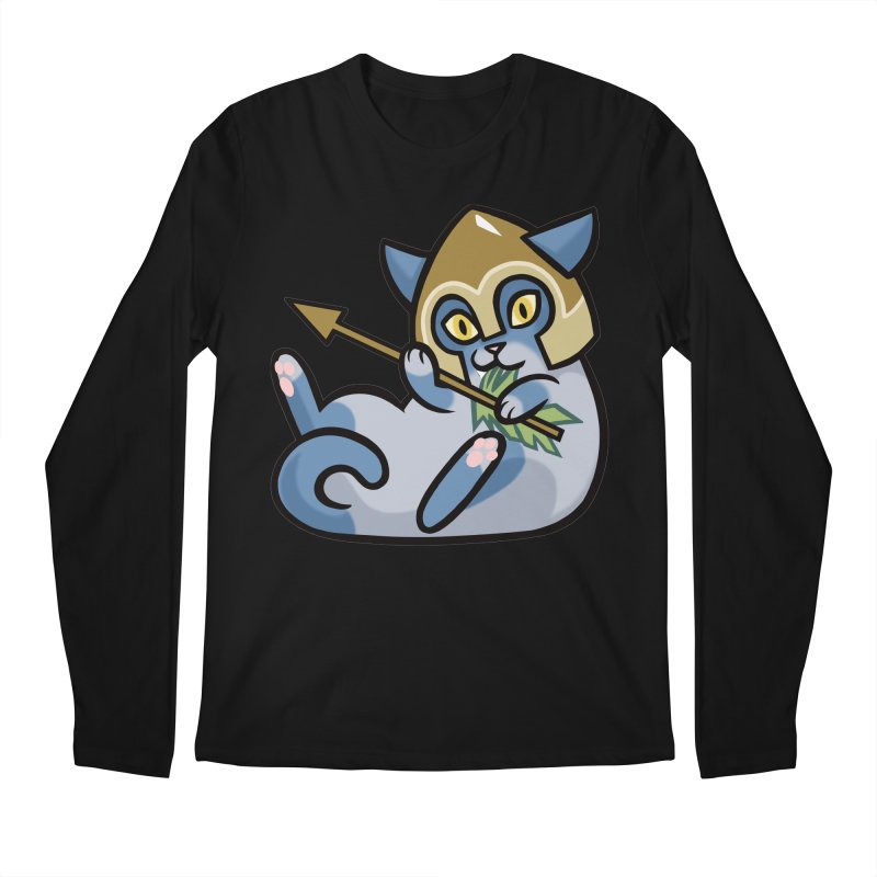 Arrow Cat Men's Longsleeve T-Shirt by mirana's Artist Shop