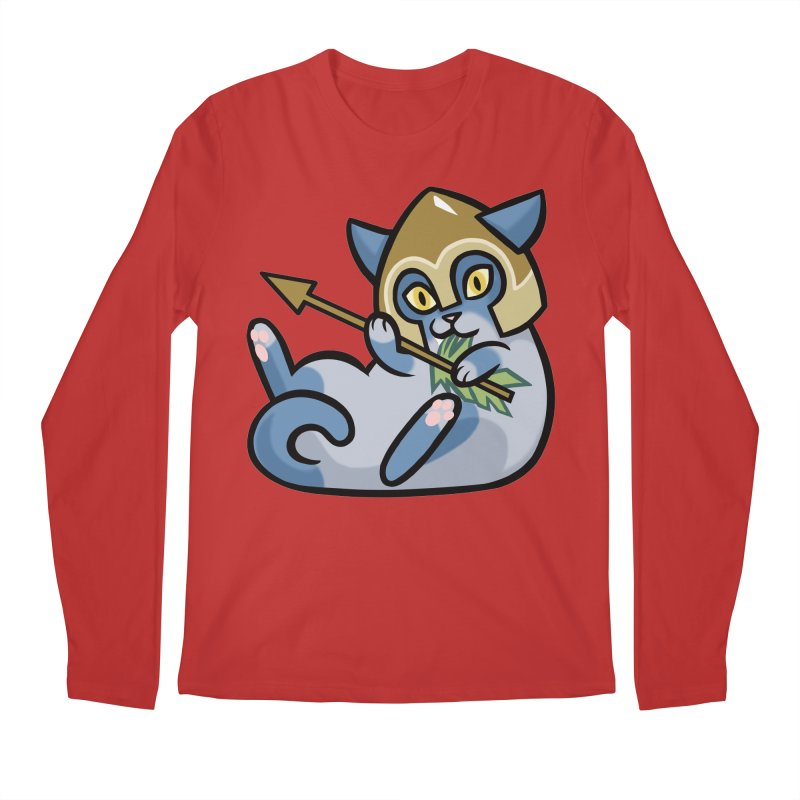 Arrow Cat Men's Longsleeve T-Shirt by mirana's Artist Shop