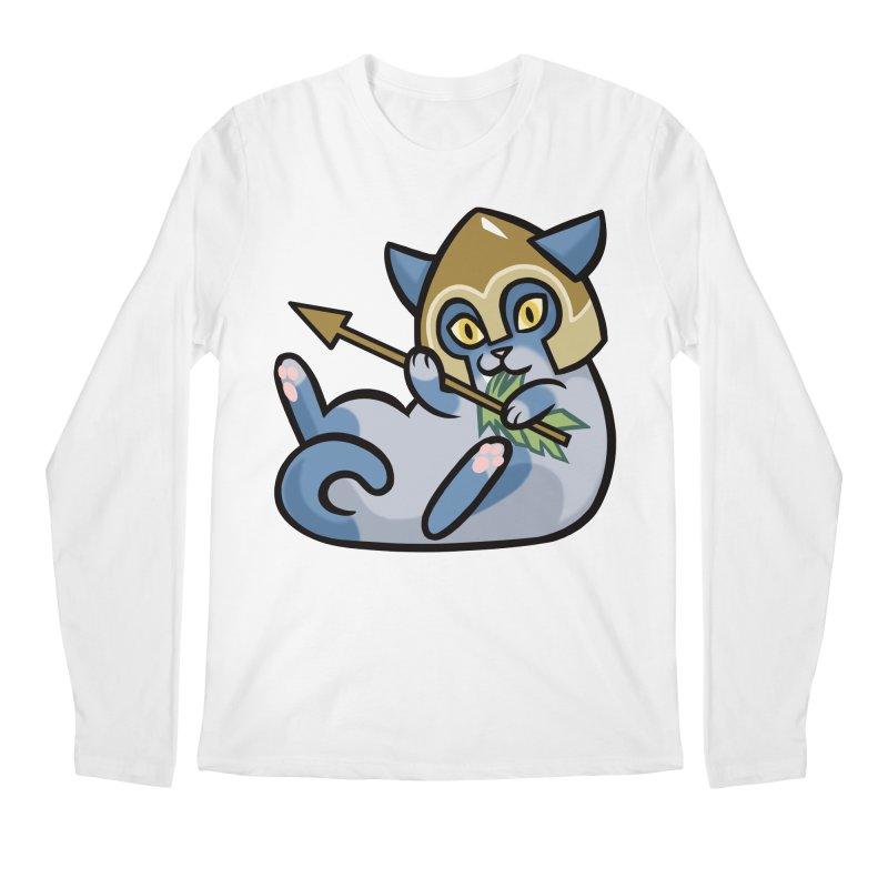 Arrow Cat Men's Regular Longsleeve T-Shirt by mirana's Artist Shop