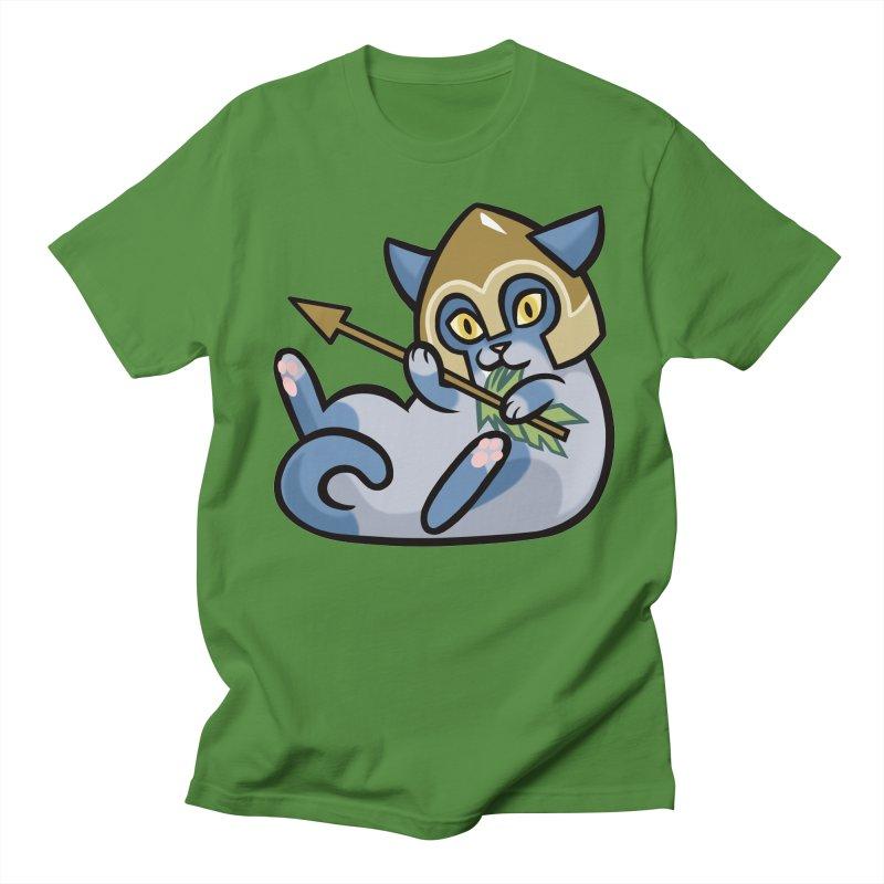 Arrow Cat Men's Regular T-Shirt by mirana's Artist Shop