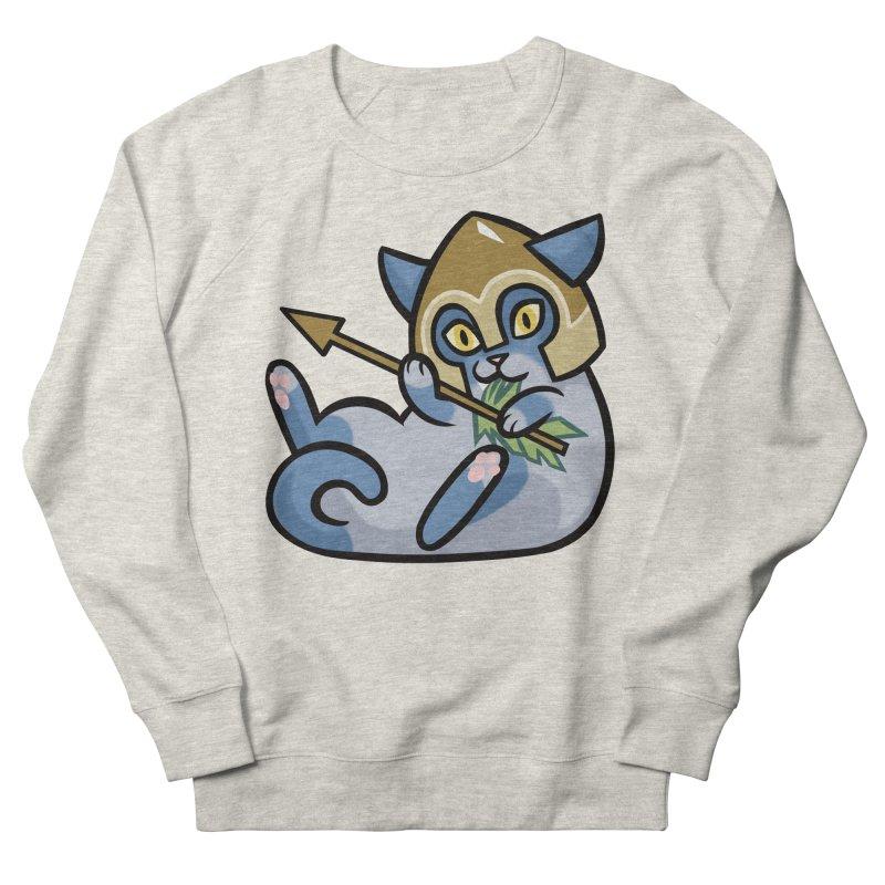 Arrow Cat Men's French Terry Sweatshirt by mirana's Artist Shop