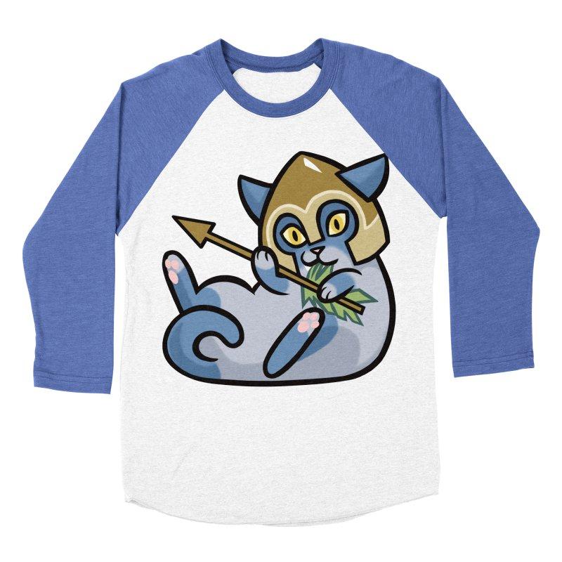 Arrow Cat Women's Baseball Triblend Longsleeve T-Shirt by mirana's Artist Shop