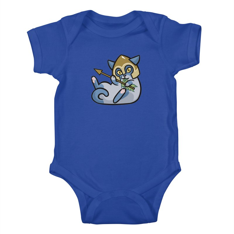 Arrow Cat Kids Baby Bodysuit by mirana's Artist Shop