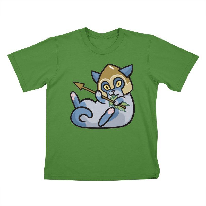 Arrow Cat Kids T-shirt by mirana's Artist Shop