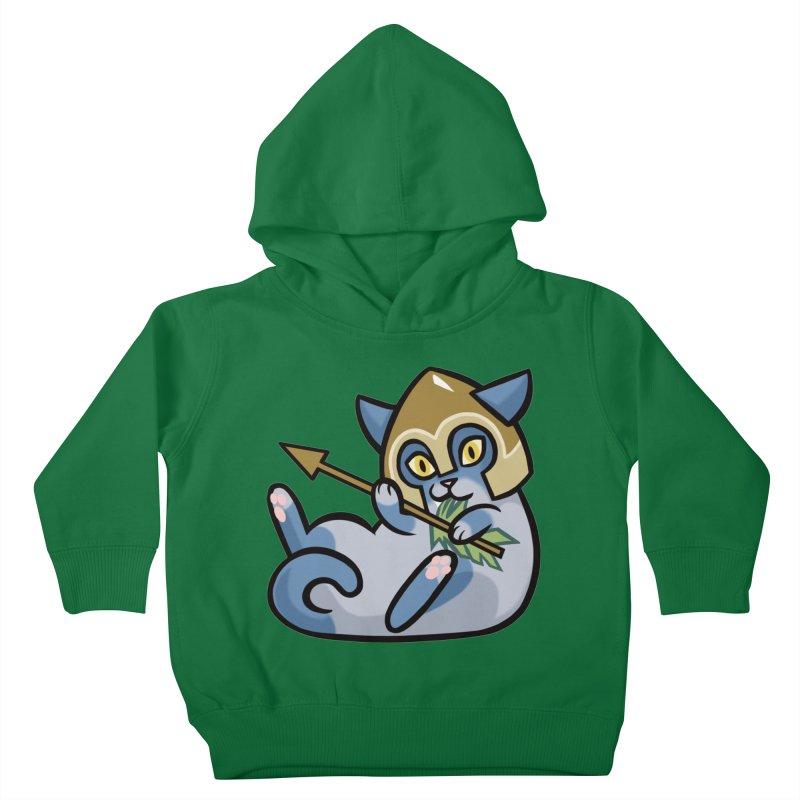 Arrow Cat Kids Toddler Pullover Hoody by mirana's Artist Shop